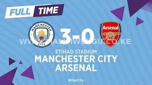 Arsenal lost to Mancity