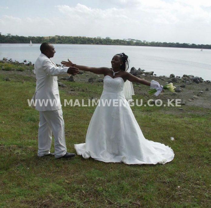 Simon Kabu and his wife sarah