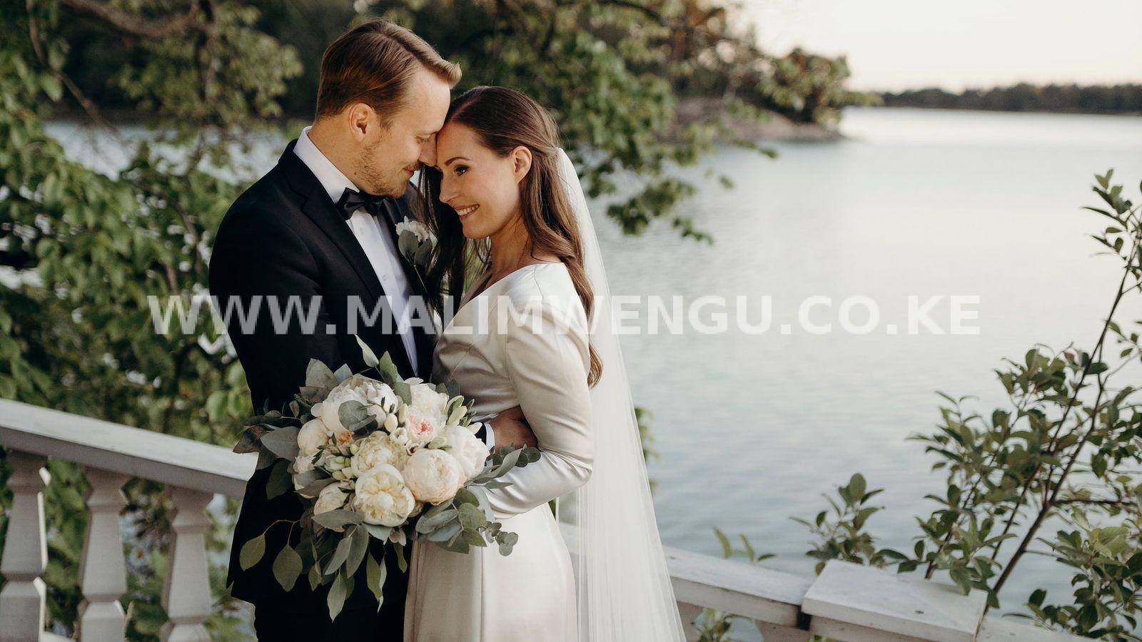 Sanna Marin and husband