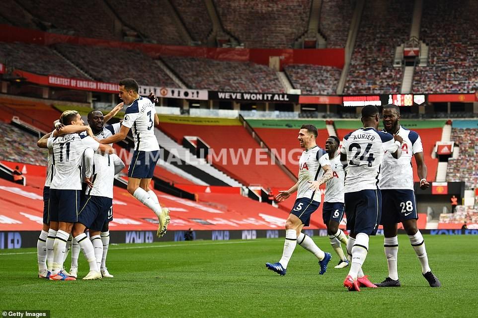 Tottenham Hotspur hammered Manchester United