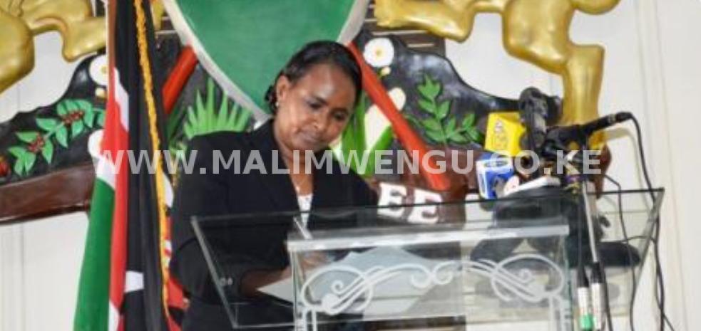 Former chairperson JKUAT council Gumato Ukur