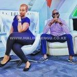 Andrew Kibe and Kamene Goro