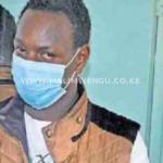 Simon Muchiri was charged in kiambu law courts for threatening to shoot president Uhuru