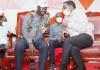 Former prime minister Raila Odinga and siaya Senator James Orengo having a moment in a past event