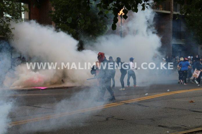 teargass